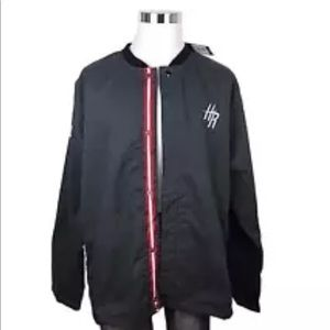 Adidas NBA XXL 2XL Warm Up Jacket Houston Rockets